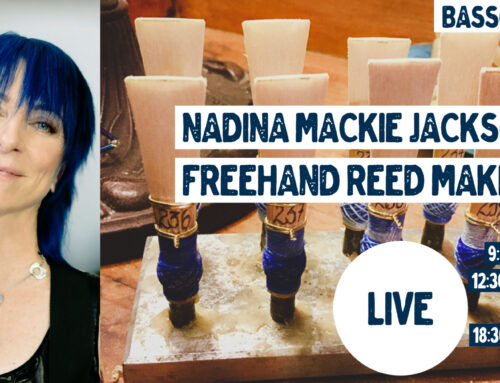 Livestream 10.12.20: Nadina Mackie Jackson – Freehand Reedmaking