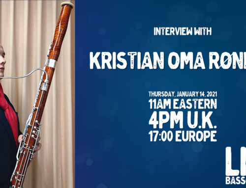 Livestream 14.1.2021: Interview with Kristian Oma Rønnes
