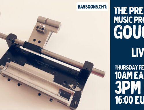 Livestream 18.2.21: The Precision Music Products Ltd. Gouger