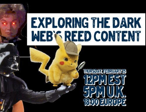 Livestream 25.2.21: Exploring The Dark Web's Reed Content